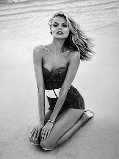 Magdalena Frackowiak - Photo: Lachlan Bailey for Vogue Paris April 2012 (pic courtesy of DNA)