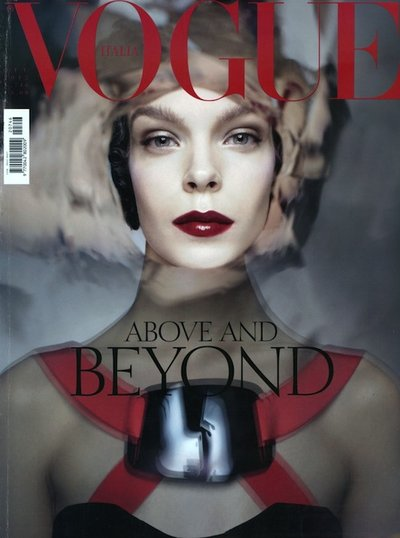 Meghan Collison - Ph: Steven Meisel for Vogue Italia October 2012