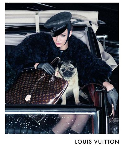 Zuzanna Bijoch - Photo: Steven Meisel for Louis Vuitton F/W 2011