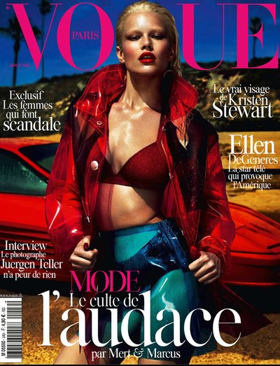 Anna Ewers - Ph. Mert & Marcus for Vogue Paris
