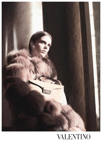 Caroline Brasch Nielsen - Photo: David Sims for Valentino F/W 2011