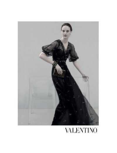 Codie Young - Ph: Sarah Moon for Valentino SS13