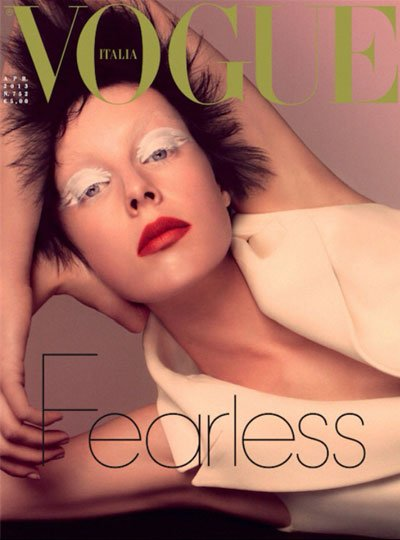 Edie Campbell - Ph: Steven Meisel for Vogue Italia April 2013