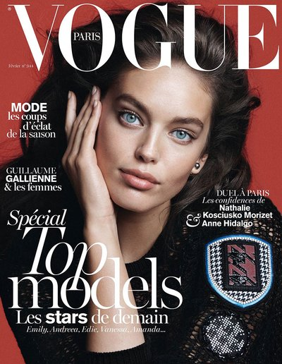 Emily DiDonato - Ph. David Sims for Vogue Paris
