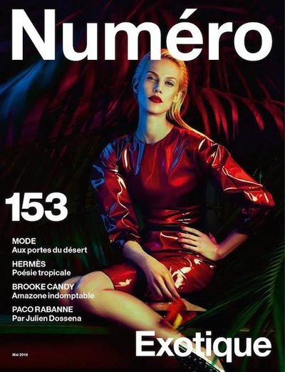 Aymeline Valade - Ph: Txema Yeste for Numero May 2014