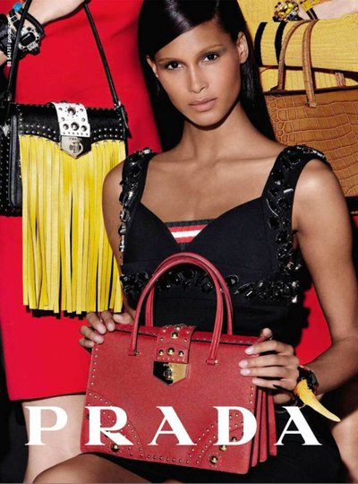 Cindy Bruna - Ph. Steven Meisel for Prada
