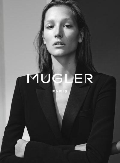 Josephine Le Tutour - Ph: Josh Olins for Mugler S/S 15