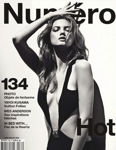 Lindsey Wixson - Photo: Sebastian Kim for Numero June/July 2012