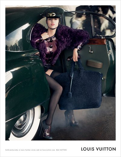 Anais Pouliot - Photo: Steven Meisel for Louis Vuitton F/W 2011
