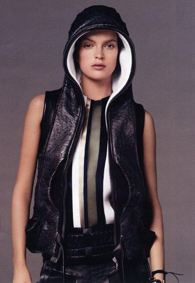 Mirte Maas - Ph: Steven Meisel for Balenciaga S/S 10 (image courtesy of Women)
