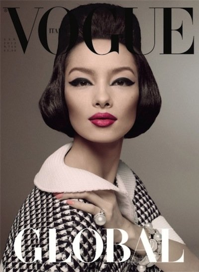 Fei Fei Sun - Photo: Steven Meisel for Vogue Italia January 2013